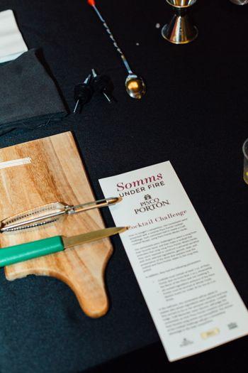 2017 Somms Under Fire Cocktail Challenge