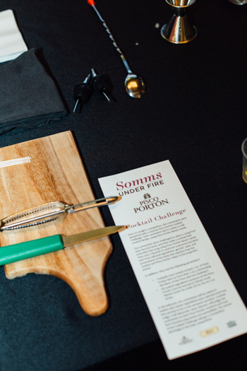 2017 Somms Under Fire Cocktail Challenge
