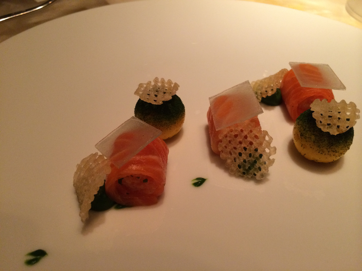 Keeper Collection - Ocean Trout Dish at L2O Restaurant