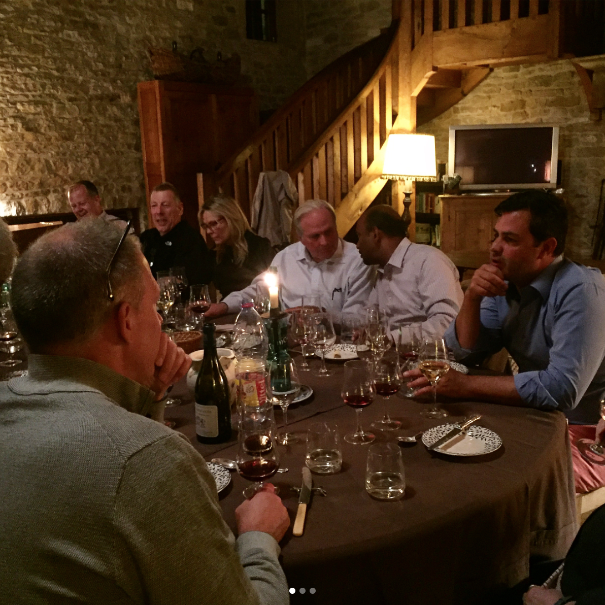 Dinner with Louis-Michel Liger-Belair