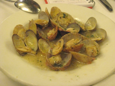 Keeper Collection - Clams at Cal Pep