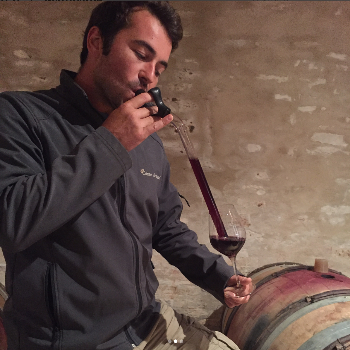 Burgundy Winemaker Paul Zinetti