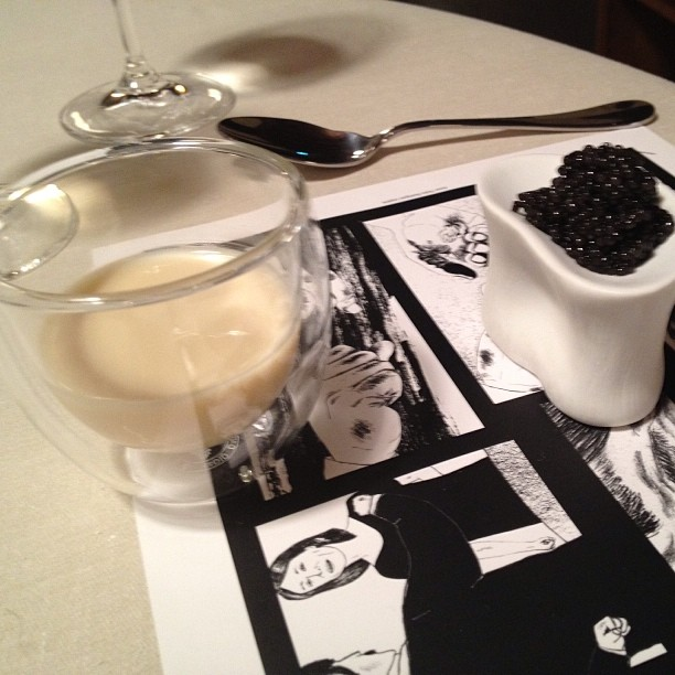Keeper Collection - Caviar w/ Flan at Mugaritz