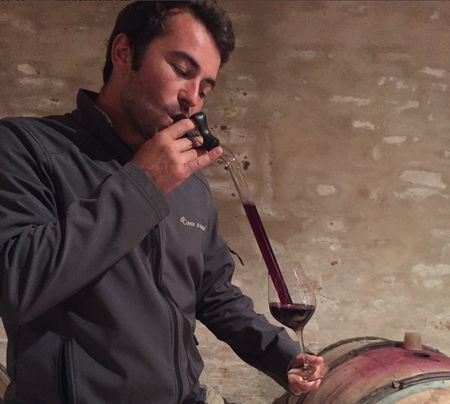 #Winemaker Paul Zinetti at Comte Armand Burgundy