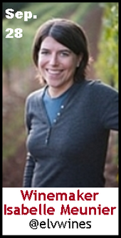 Keeper Collection #SommChat Guest #winemaker Isabelle Meunie