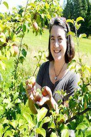 Founder of Eden Ciders, Eleanor Leger