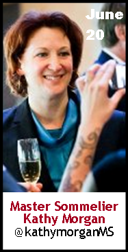 Keeper Collection #SommChat Guest #MasterSommelier Kathy Morgan
