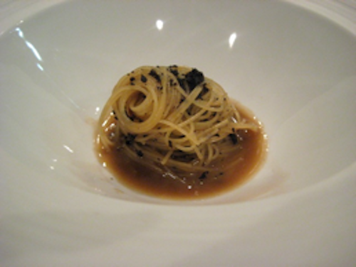Keeper Collection - Cannelloni w Black Truffles at Can Fabes