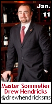 Keeper Collection #SommChat Guest #MasterSommelier Drew Hendricks