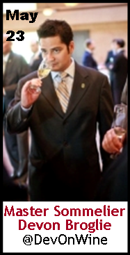 Keeper Collection #SommChat Guest #MasterSommelier Devon Broglie