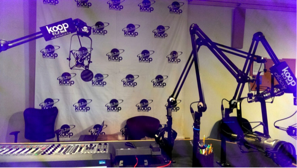 Studio Radio at Koop