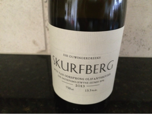 The Sadie Family Skurfberg Chenin Blanc