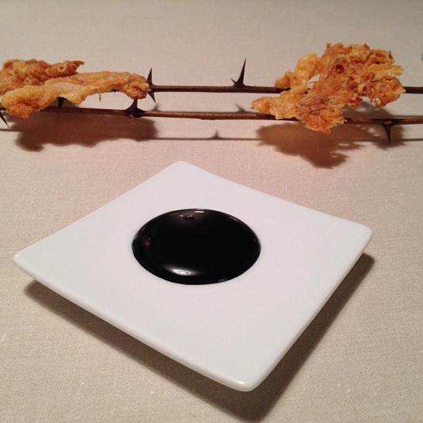 Keeper Collection - Tendon Dish at Mugaritz