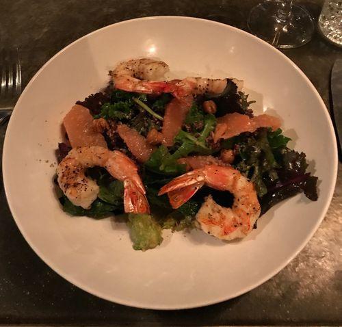 Eberly Kale Salad with Shrimp