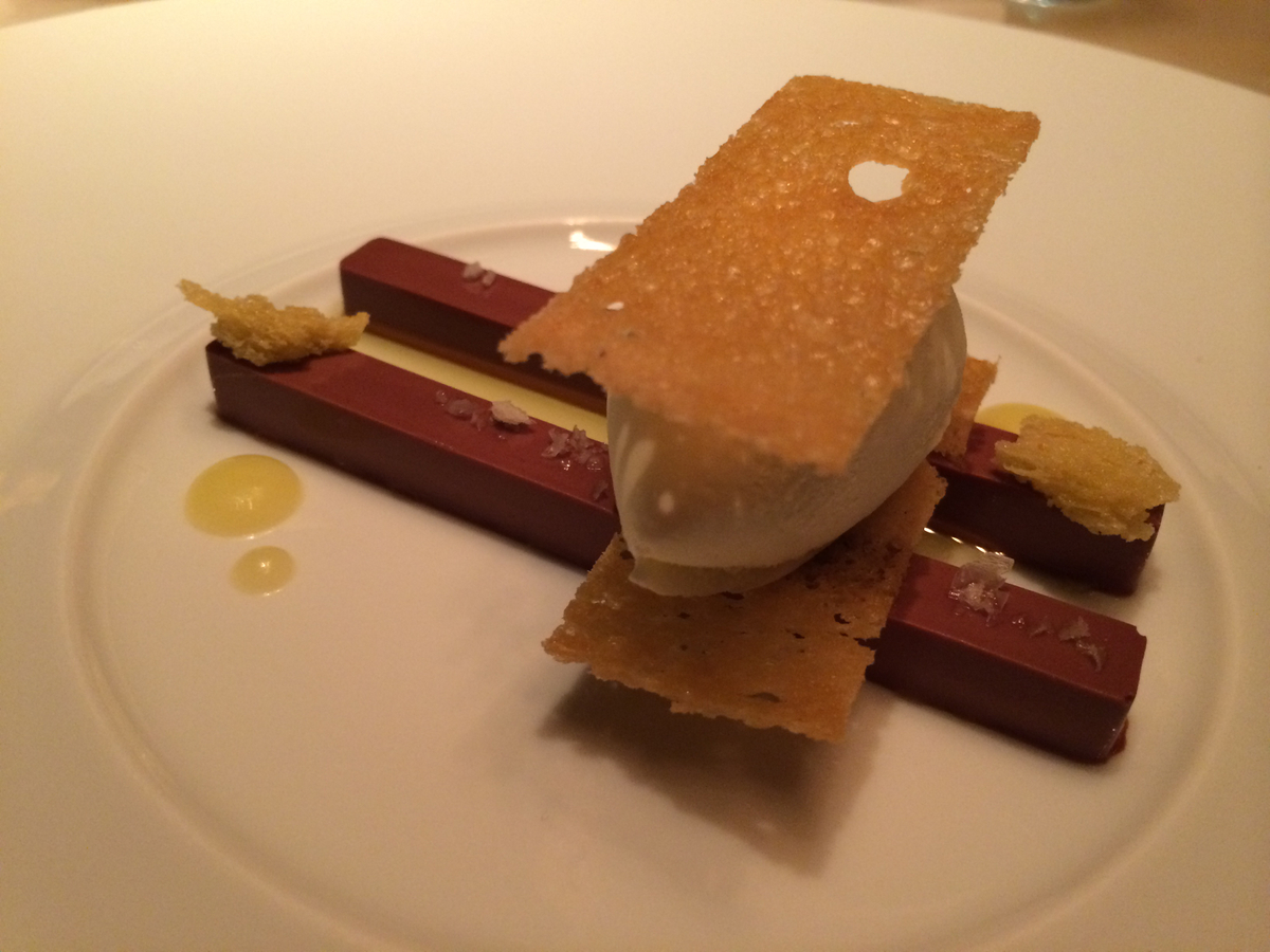 Keeper Collection - Chocolate & Brioche Dish at L2O Restaurant