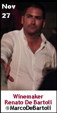 Keeper Collection #SommChat Guest #Winemaker Renato DeBartoli