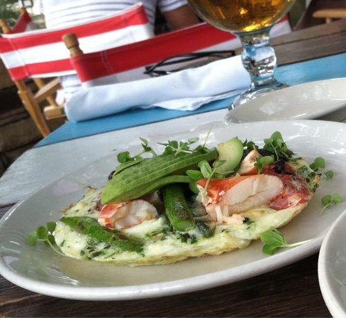 Perla's Lobster Egg Frittata