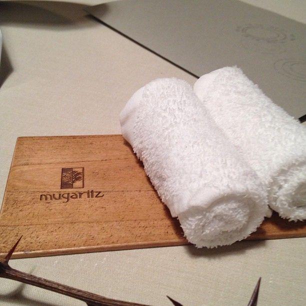 Keeper Collection - Hot Hand Towels at Mugaritz