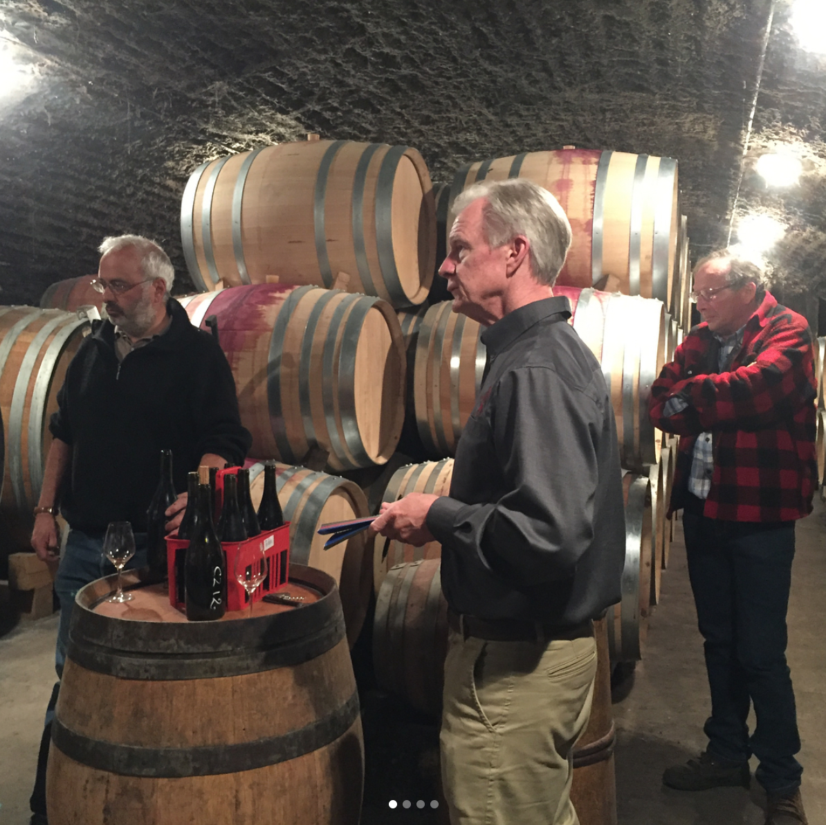 Burgundy Winemakers Bruno Clair and Philippe Brun