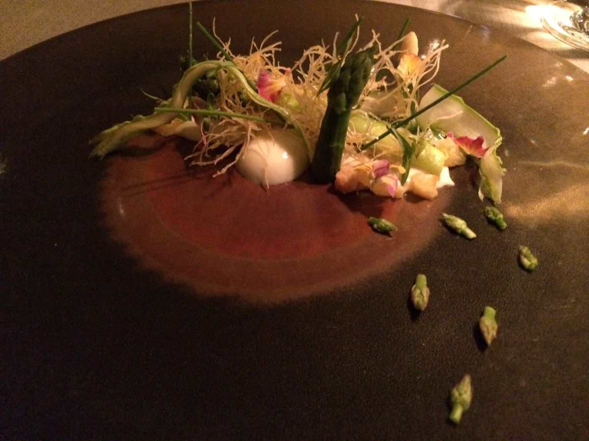 Keeper Collection - Asparagus Dish at Grace Restaurant