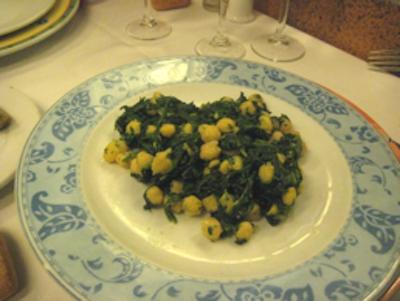 Keeper Collection - Spinach & Garbanzos at Cal Pep