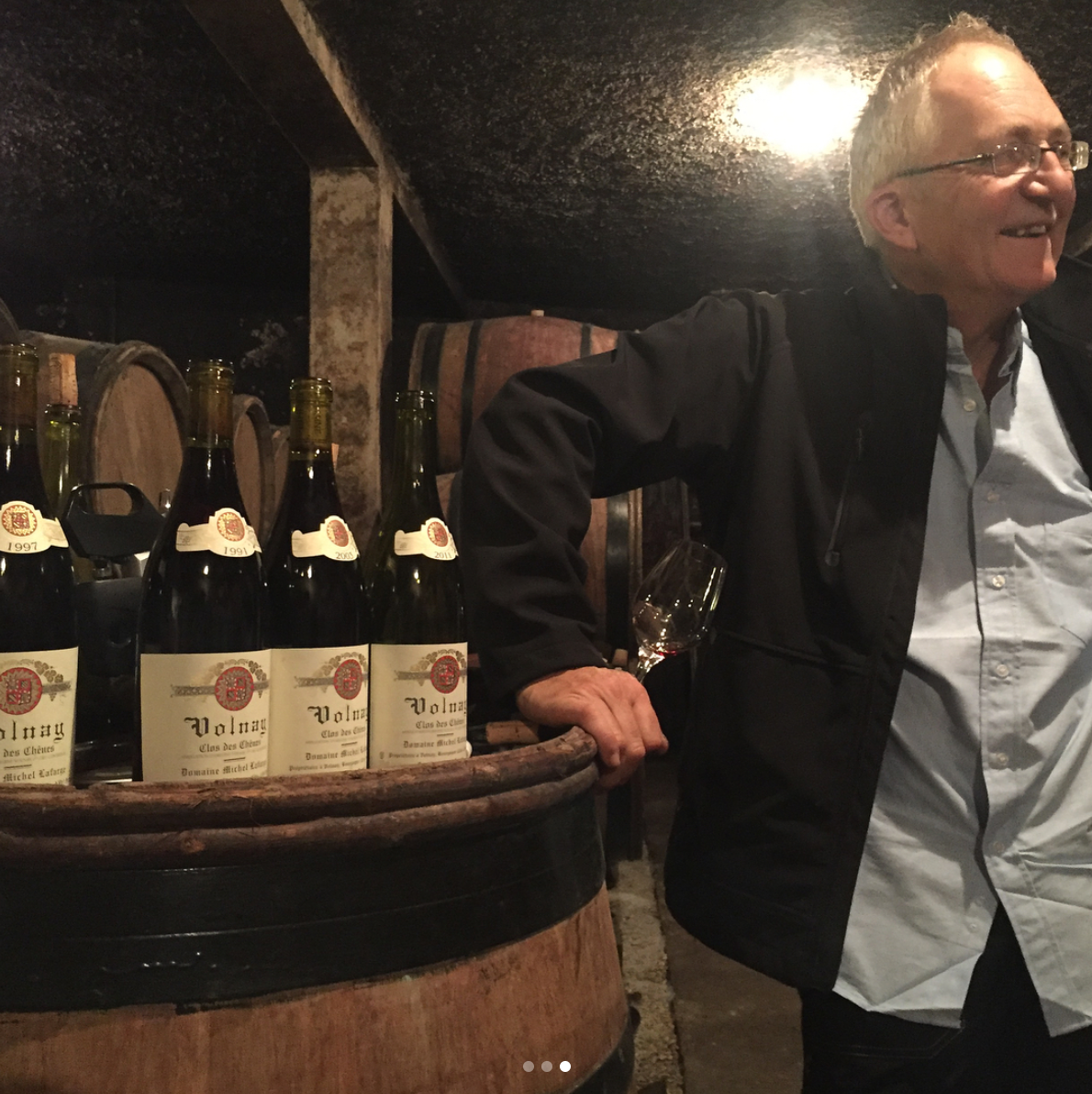 Frederic Lafarge with Vintages