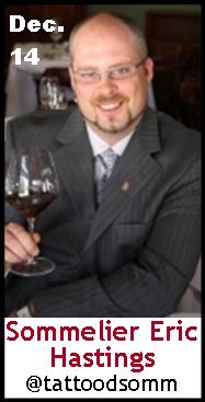 Keeper Collection #SommChat Guest #Sommelier Eric Hastings