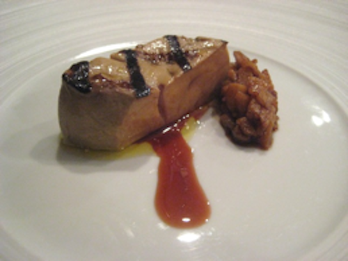 Keeper Collection - Foie Gras with Quince at Can Fabes
