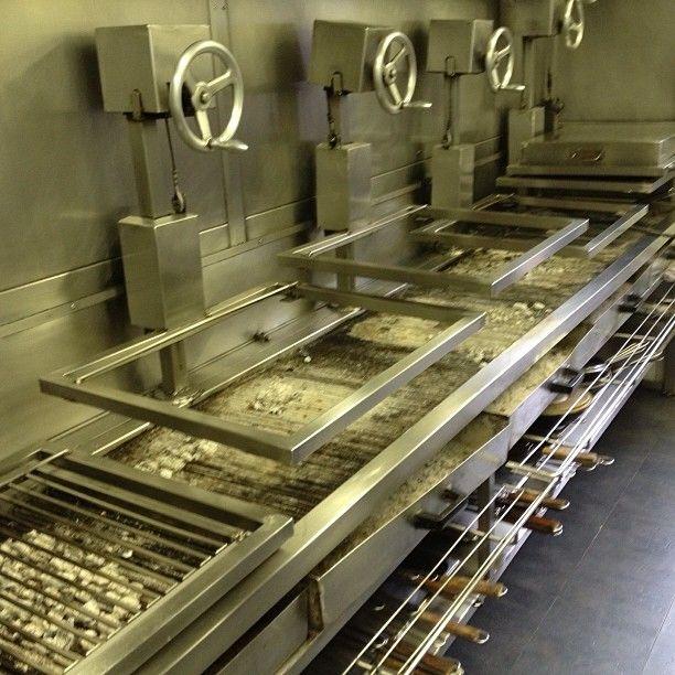 Asador Etxebarri Restaurant Kitchen