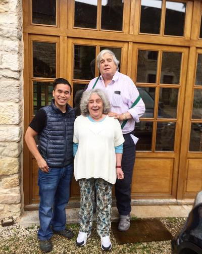 Hai Tran, Becky Wasserman, and Russell Hone in Bouilland