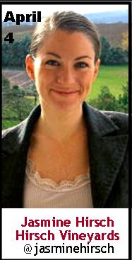 Keeper Collection #SommChat Guest   Jasmine Hirsch of Hirsch Vineyards