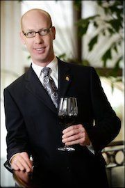 Master Sommelier James Tidwell,  TexSom/TexSom IWA co-founder