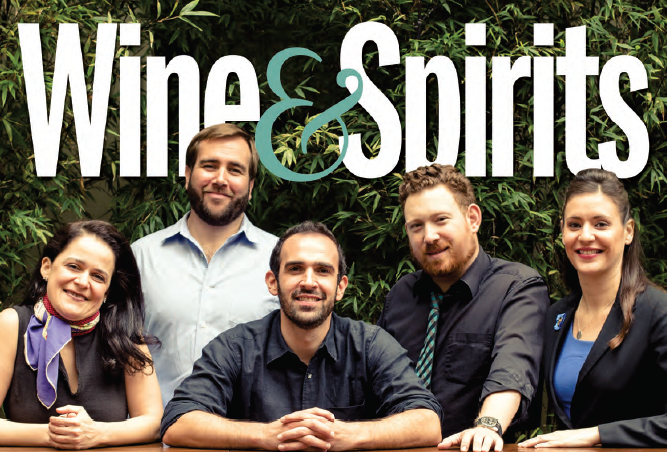 Wine & Spirits December '14 Cover
