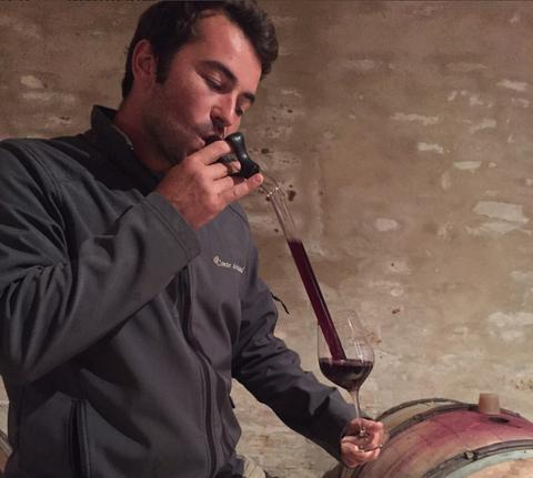 #Winemaker Paul Zinetti at Comte Armand Burgundy