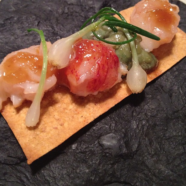 Keeper Collection - Smoked Toast, 100% Lobster at Mugaritz