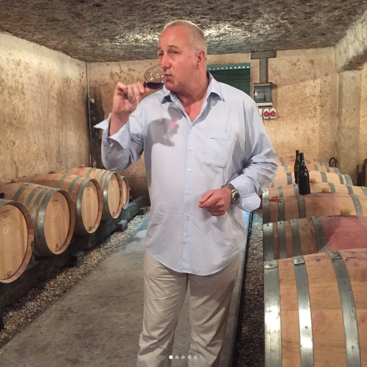 Burgundy Winemaker Etienne Grivot