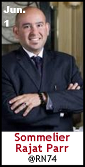 Keeper Collection #SommChat Guest #Sommelier Rajat Parr