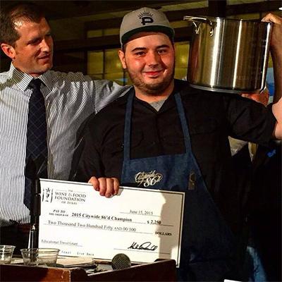 Chef Joel Garza from St. Philip Austin