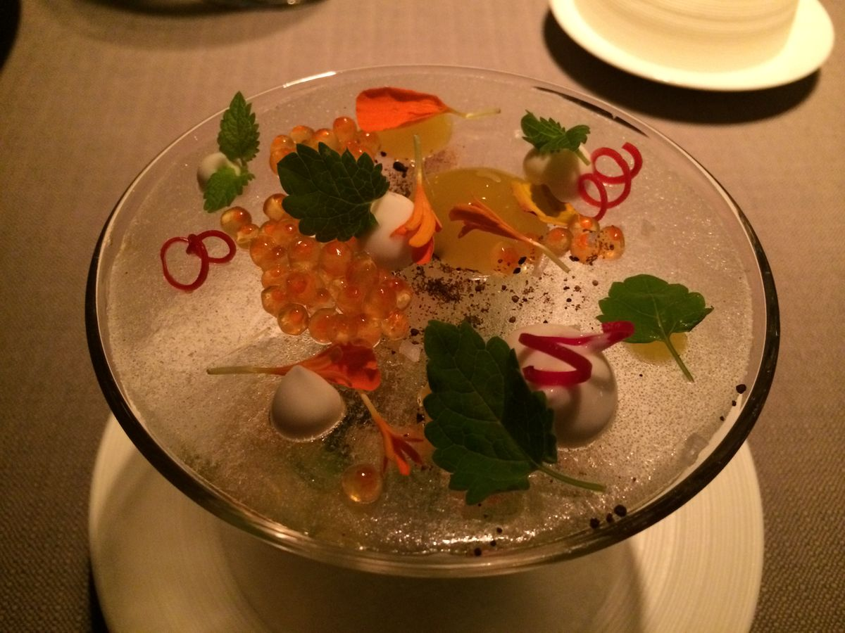 Keeper Collection - Alaskan King Crab Dish at Grace Restaurant
