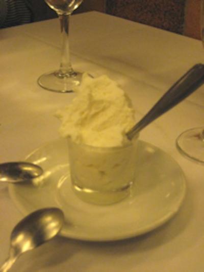 Keeper Collection - Espuma Dessert at Cal Pep