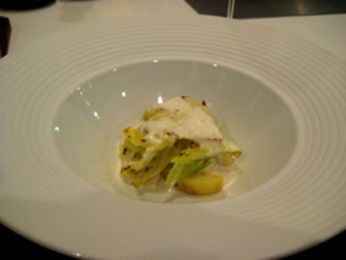 Keeper Collection - Steamed Cabbage & Roasted Potatoes at Can Fabes