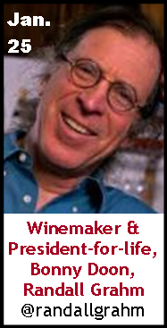 Keeper Collection #SommChat Guest #Winemaker Randall Grahm
