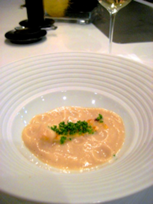 Keeper Collection - Steamed Celery in Cheese Sauce at Can Fabes