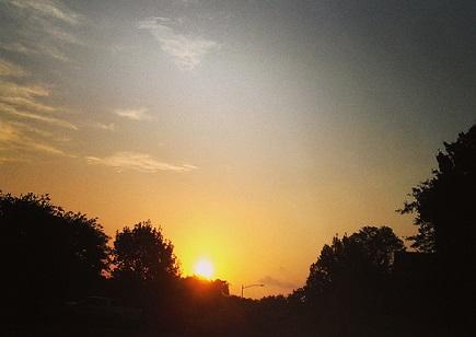 Sunrise in Austin