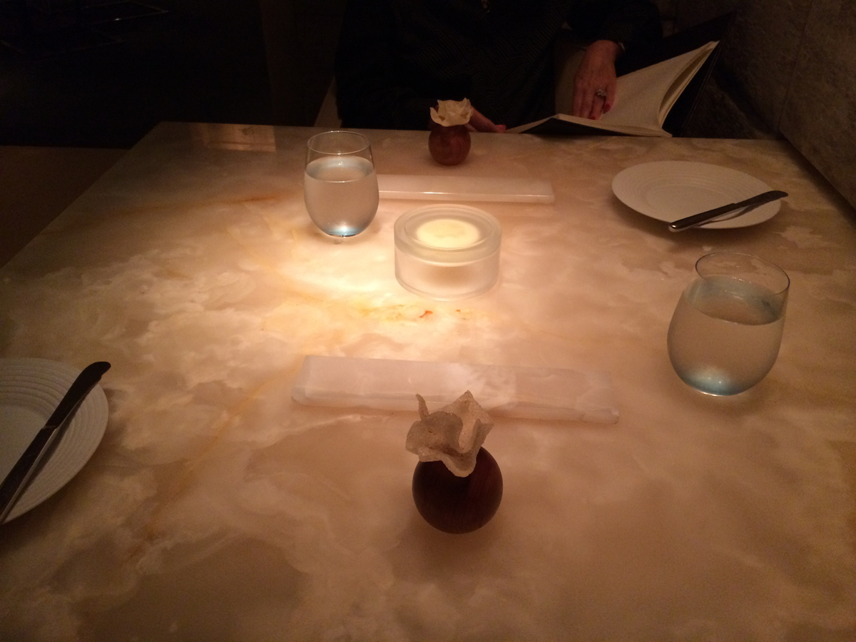 Keeper Collection - Table & Amuse-Bouche at L2O Restaurant