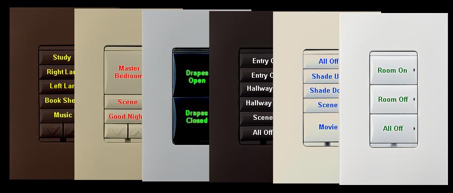 Control4 Wireless Keypads