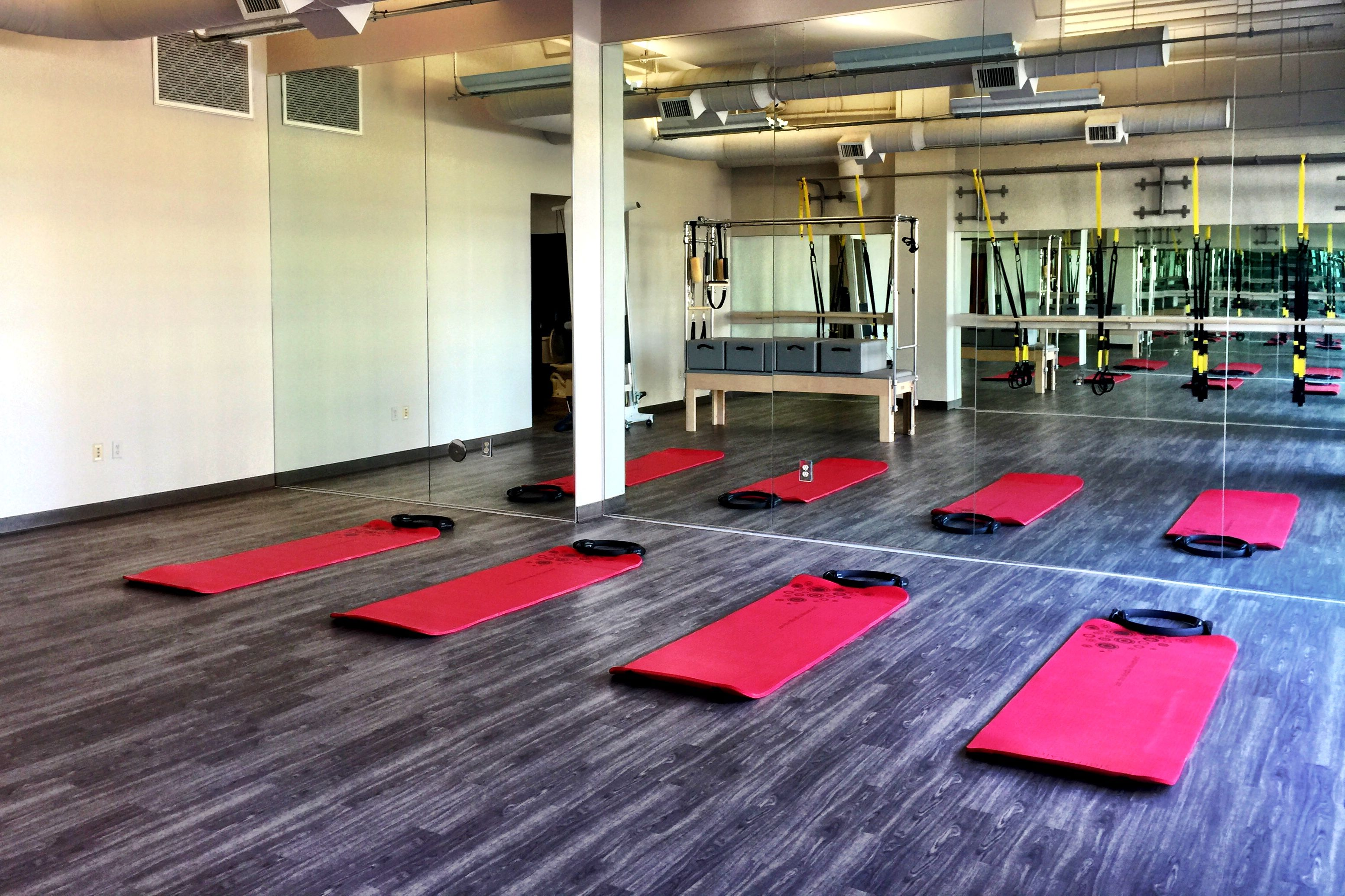 Bird Dog Pilates & Fitness Main Studio Space Cleared for Matwork