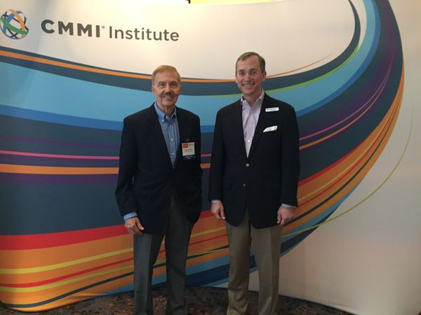 Dr. Richard Waina was honored in 2016 by the CMMI Institute for having been one of their Partners for fifteen years. The award was presented by Kirk Botula, CEO of the CMMI Institute,