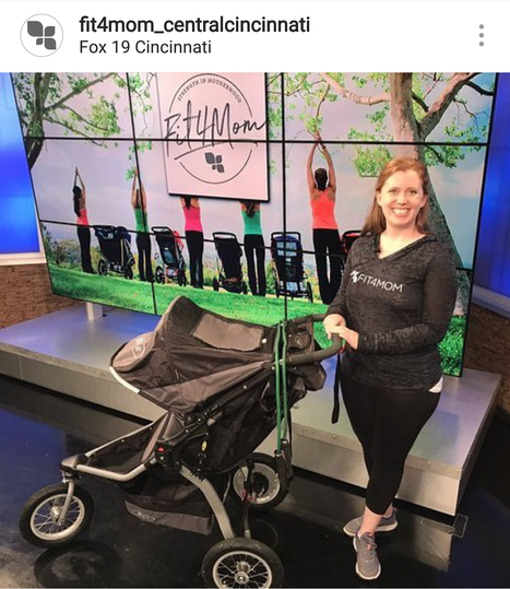 Stroller Barre on Fox19