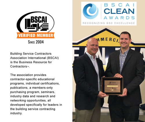 Proud to be Awarded BSCAI's Safety Award